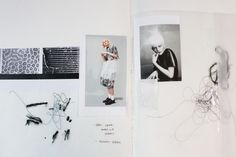 Fashion Sketchbook - fashion design development with textiles research; fashion portfolio // Louise Nutt