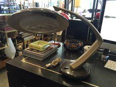 Lampara de mesa Fase modelo Boomerang 64 , años 60 , 250€