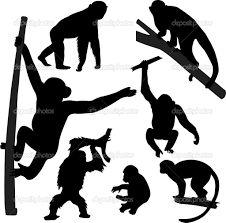Картинки по запросу эскизы обезьян