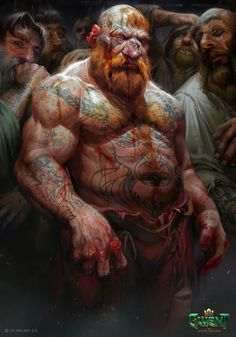 Daniel Valaisis is an artist at CD Projekt Red, the developers of The Witcher and Cyberpunk Fantasy Dwarf, Fantasy Rpg, Medieval Fantasy, Fantasy Artwork, Fantasy World, Fantasy Races, High Fantasy, Fantasy Warrior, Dnd Characters