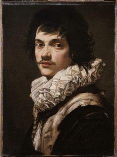 Simon Vouet, Portrait de jeune homme, 55x41 cm, Paris, Musée du Louvre   © RMN-Grand Palais (musée du Louvre) / Daniel Arnaudet