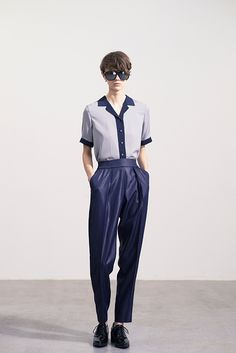 Ad Fashion, Japan Fashion, Fashion Pants, Editorial Fashion, Fashion Beauty, Girl Fashion, Womens Fashion, Sea Dress, Androgynous Fashion