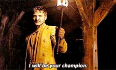 Have you accepted prince Oberyn Martell as your lord and champion? because I totally have