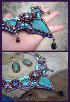 Hey, I found this really awesome Etsy listing at https://www.etsy.com/listing/218187706/ooak-handmade-necklace-seed-bead
