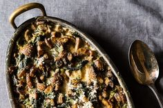 Spinach, Mushrooms, and Cream for Dinner recipe on Food52.com