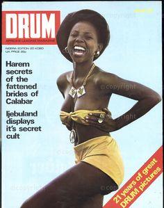 Drum Magazine, Jet Magazine, Black Magazine, African Culture, African History, Drums Pictures, Afro, Vintage Black Glamour, Digital Archives