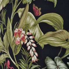 "Custom Bedroom drapery curtain Panels- 84"", 96"",108""- Waverly  Lined or Unlined / Wailea Coast Sun N Shade Ebony Fabric. L.Room, Bedroom"