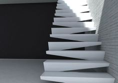 pinterest.com/fra411 Stair design by Notdesigni  design scale stairs