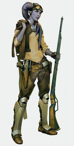 Male Scoundrel Twi'lek #RPG #StarWars