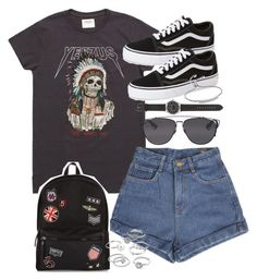 A fashion look from December 2016 by ferned featuring Vans, New Look, J.Crew, Monica Vinader, Candie& and Christian Dior Grunge Outfits, Punk Outfits, Swag Outfits, Grunge Fashion, Short Outfits, Summer Outfits, Casual Outfits, Fashion Outfits, Womens Fashion