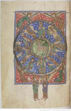 Département des manuscrits, NAL 2290  - Beatus. Commentaire sur l'Apocalypse.
