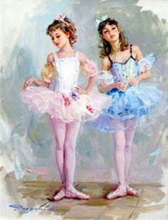 Young Ballerinas - Konstanin Razumovs
