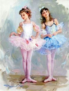 Young Ballerinas ~ Konstantin Razumov