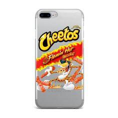 CLEAR HOT CHEETOS CUSTOM IPHONE CASE – Fresh Elites
