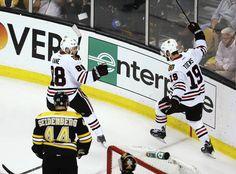 Happy Hawks Brothers - Photos: Blackhawks' goals in the playoffs -- Chicago Tribune