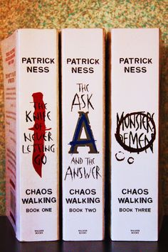 chaos walking trilogy. Recommend for anyone who love Hunger Games! Hmmm...have to check theses out...