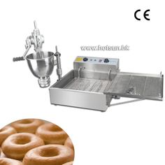 1232.00$ Watch now - http://ali2ze.worldwells.pw/go.php?t=32711276205 - Commercial Manual Donut Doughnut Maker Machine and Electric Deep Fryer 1232.00$