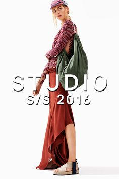 The H&M Studio S/S 2016 collection has arrived! Discover handcrafted elements, bright graphic prints and patchworked denim in a bold look inspired by wanderlust. | H&M STUDIO