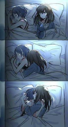 Una siesta romántica...