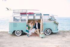 VW Bus styled shoot   Jeannemarie Photography   Burnett's Boards