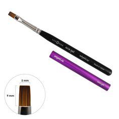 Ace Gel Brush / Edge & Top Nail Art Brushes, Nail Art Tools, Brush Sets, Tie Dye Patterns, Large Flowers, Flower Petals, Nails, Mini, Ongles