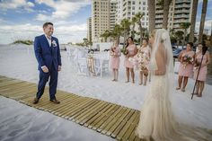 Outdoor Waterfront Clearwater Beach Wedding Round Up