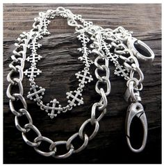 Mens stainless steel jeans chain - Burnished Silver / AZMJJC004-BSL Arras Creations http://www.amazon.com/dp/B00IQ29YMY/ref=cm_sw_r_pi_dp_ljg3vb1GW2RAK