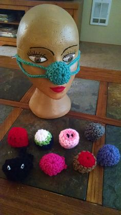 Crochet nose warmers by stephsyaya on Etsy