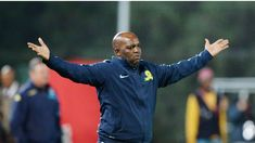 PITSO MOSIMANE FEARS HE WOULD GET A 'LOVE LETTER' IF HE SPEAKS ABOUT AUBREY NGOMA Mosimane was accused of poaching players from City in May this year, and the Sundowns coach doesn't want to get his fingers burned yet again www.rwbola.com