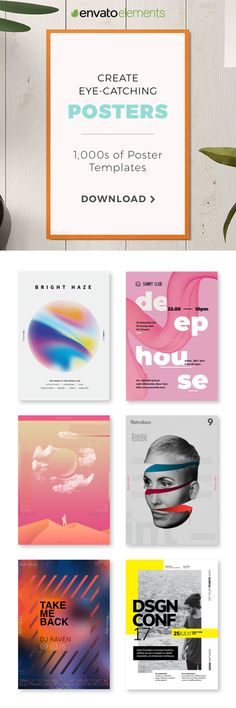 Unlimited Downloads of 2018's Best Poster Templates