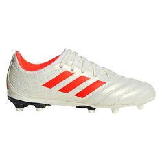 1911e260b4b adidas Copa 19.3 FG Junior Firm Ground Soccer Cleat Off White Solar Red Off
