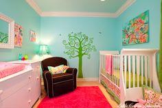 girl nursery decorpad.com