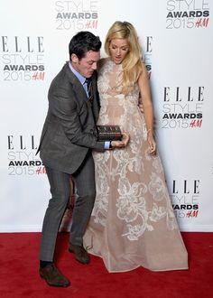 Luke Evans Photos: Elle Style Awards 2015 - Winners Room