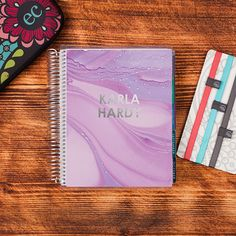 2016-17 #ECLifePlanner in Marble & Platinum Metallic. Choose your interior color theme (neutral or colorful), and then your weekly layout (weekly, horizontal or vertical)! #ErinCondren
