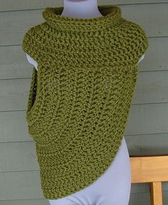 Ravelry: Half Sweater Wrap Style #1 | Katniss | Catching Fire | District 12 | Hunger Games pattern by Yarn me Silly