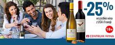 Wino Francuskie czy Amerykańskie? Nie jesteś pewien? Przyjdź do Centrum Wina