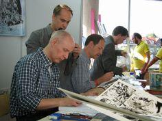 Mark Schultz, John Flesk, Terry Dodson. #MarkSchultz #Art #Comics