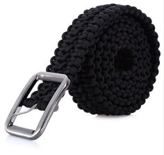 Survival Paracord Belt Camping Woven Multi tools Hand Made
