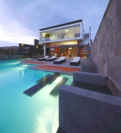 Contemporary is not really style, but this is really beautiful. In Peru...