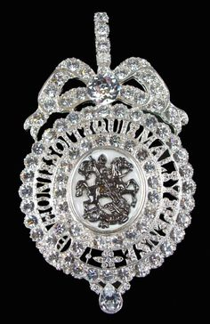 Queen Victoria's sash badge of the Lesser George