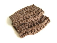 Knitted Boot Cuff Pattern