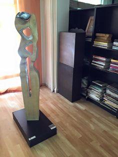 """""""Kusursuz Kusur"""" (2011; Meşe Ağacı Çalışma -  145 cm x 20 cm x 15 cm)"""