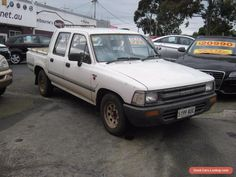 toyota hi-lux twin cab 1990 melbourne location cheap/tonka tuff/work horse #toyota #hilux #forsale #australia