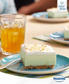 """The only way to find out if the key to success is in a Key Lime Square is to do some """"research. Key Lime Squares, Easy Meal Prep, Cheesecakes, Cooking Tips, Pudding, Meals, Cookies, Squares Recipes, Desserts"""