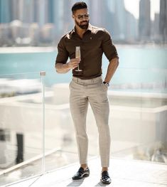 63 Ideas For Style Casual Chic Homme Beards Big Men Fashion, Mens Fashion Suits, Men's Fashion, Latest Fashion, Fashion Ideas, Fashion Trends, Casual Chic Style, Look Chic, Trendy Style