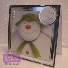 @crafterscomp 6x6 paper stack used as decoupage, centura pearl and cardstock/ sentiment from luxury cardmaking kit