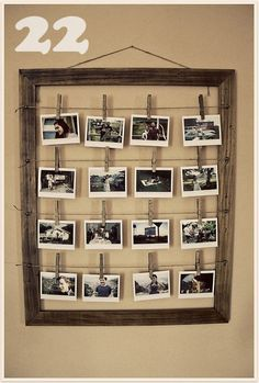 DIY Art/Photo Wall Collages & Endless Inspiration, tons of gallery walls on this site. I love this one, I would use it as a changeable inspiration board in my craft room.
