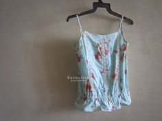 shop-my-closet | Ashley sweet floral camisole | S$12