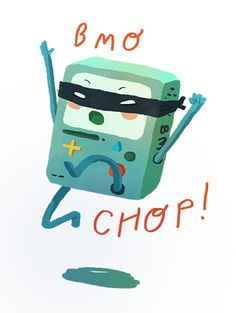 Character Redesign   Ten Paces and Draw Natalie Andrewson has got BMO's dark side down pat.