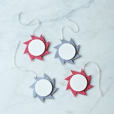Origami Pinwheel Star Gift Tags (set of 4)j